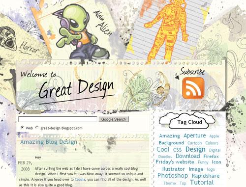 Design Blog : Murah atau Mahal?